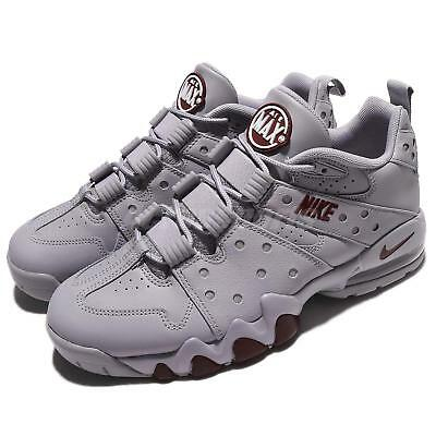 best service 72125 3fd21 Nike Air Max2 CB 94 Low Charles Barkley Grey Red Men Basketball Shoe  917752-002