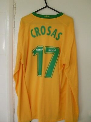 Rare Celtic Marc Crosas 17 Shirt Large L 2008 - 09