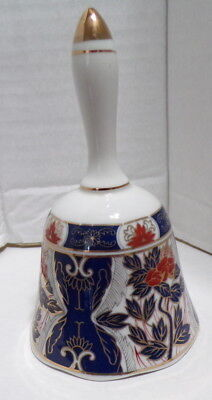 Imari Japan Fine Porcelain China Bell ~ Marked