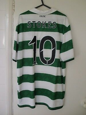 Celtic Anthony Stokes 10 Shirt Large L 2010 - 11