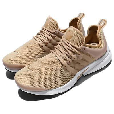 more photos 49f25 a643b Nike Wmns Air Presto Linen White Women Running Casual Shoes Sneakers  878068-200