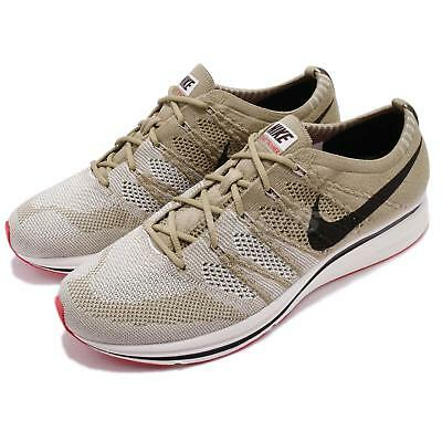 92e065dbbced Nike Flyknit Trainer Neutral Olive Velvet Brown Men Shoes Sneakers AH8396- 201