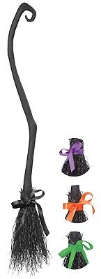 """California Costumes Witch's Broom Halloween Accessory Approx 51"""" Long 60620"""
