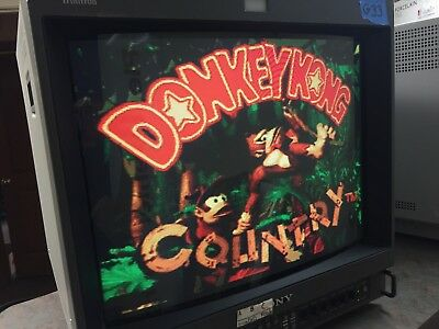 Sony Trinitron PVM-20M2U Color Video Monitor-Audio Not Working-For Retro Gaming