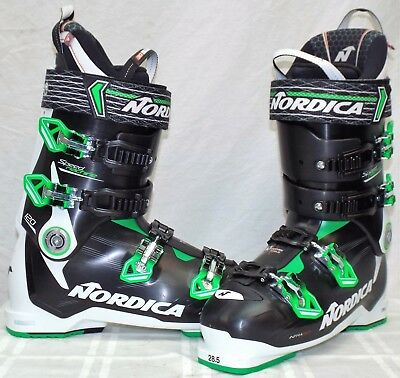 NORDICA SPEED MACHINE 120 Used Mens Ski Boots Size 28.5 #632711