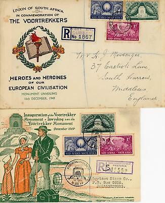 South Africa Selection of Six Covers/FDC's etc LOOK!