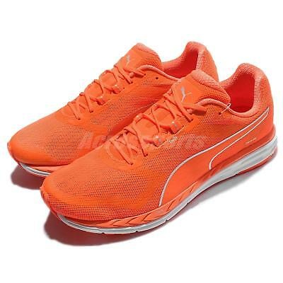 1af8ac8de6f2b7 Puma Speed 500 Ignite Nightcat 3M Reflective Orange Men Running Shoes  189083-02