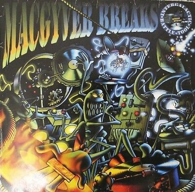 "Macgyver Breaks - Intergalactic Battle Tool Vinyl 12"" a0711935de"