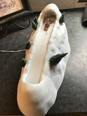 Department DEPT 56 Christmas VILLAGE ANIMATED SLEDDING HILL