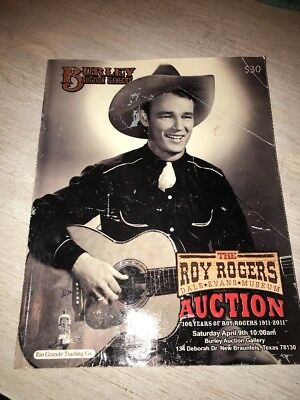 Roy Rogers & Dale Evans Museum Burley Auction Gallery Catalogue As-is Used Book