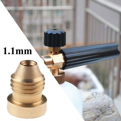 1.1mm Brass Nozzle Mod Tips For Snow Foam Lance Cannon Universal K6