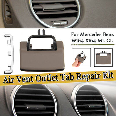 Beige A/C Air Vent Outlet Tab Clip Repair Kit For Mercedes Benz W164 X164 ML GL