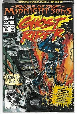Rise of the Midnight Sons Parts 1-6 / Polybagged w/ posters / Ghost Rider