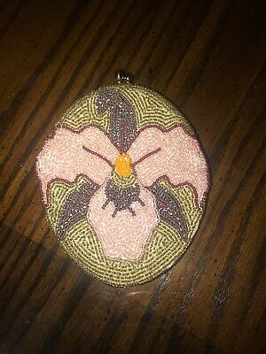 Vintage Beaded Rosenfeld Coin Purse