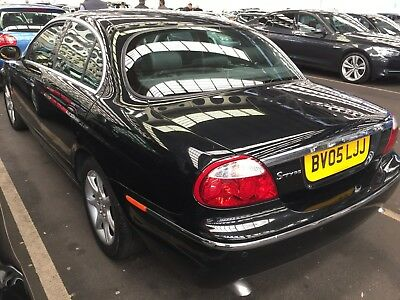 05 Jaguar S-Type 2.7 D V6 Se Saloon **black, Only 83K, 9 Services, Leather Etc!*