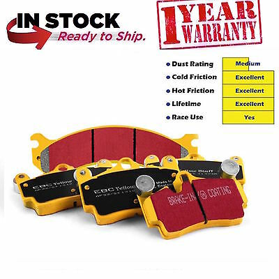 Mercedes C63 AMG C204 W204 Front Brake Pads EBC Yellowstuff DP41939R