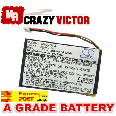 Battery for GARMIN GPS Nuvi 255WT 252w 260 260w 270 760 760T 1400 1450 1490