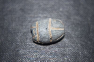 ANCIENT EGYPTIAN HARDSTONE SCARAB circa 2nd MILLENIUM  BC