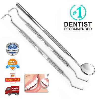 Dental Hygiene Calculus & Plaque Remover Teeth Whitening Oral Care Tools Kit