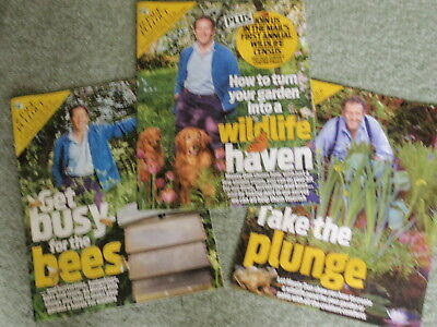 NEW:  Gardening - 3 x Part Pullouts compiled by Monty Don  (Daily Mail Weekend )