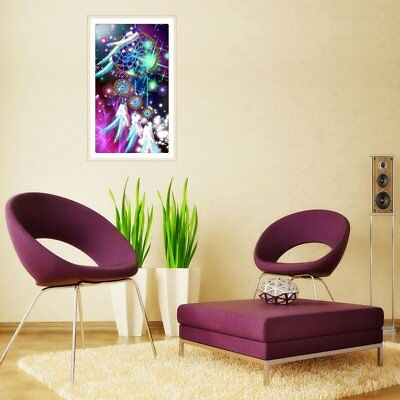 Feather Dream 5D DIY Diamond Embroidery Full Resin Painting Cross Stitch a@