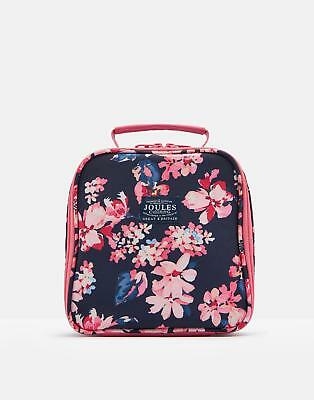 Joules 124999 Lunch Bag And Box in FRENCH NAVY MIDNIGHT GARDEN FLORAL