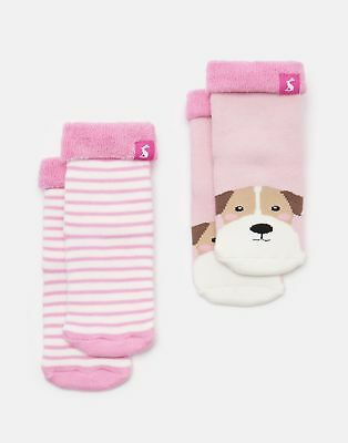 Joules 125029 Soft Towelling Socks in DOG