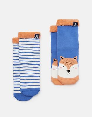Joules 125032 Soft Towelling Socks in FOX