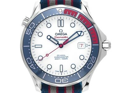 Omega Seamaster Diver 300m Co-Axial Commander´s Watch James Bond 007 Stahl