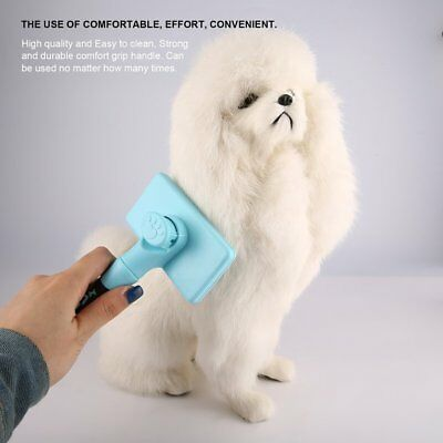 Pet Dog Cats Grooming Hair Comb Brush Massage Comb Removes Loose Hair TanglesÇD