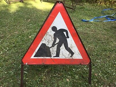 """MEN AT WORK / ROADWORKS"" Traffic Control Management Road Sign"