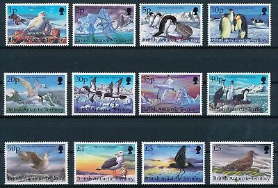 [H7366] Brit. Antarctic Terr.1998 : Birds - Good Set Very Fine MNH Stamps - $65