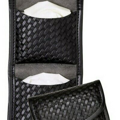 Bianchi Black 7928 Basketweave Accumold Elite Flat Glove Holder Pouch 22962