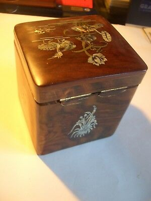 Tea Caddy/ Dragon Box