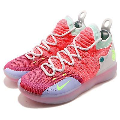 b71fc5e37ce3 Nike Zoom KD 11 EP XI EYBL Peach Jam Hot Punch Kevin Durant Men Shoes AO2605