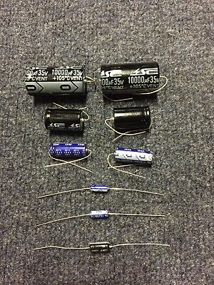 Bally Midway Namco Pacman Ms. Pac Man PCB Capacitor Cap Repair Rebuild Kit