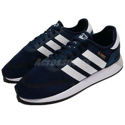 more photos 34304 244ca adidas Originals N-5923 Iniki Runner Navy White Men Running Shoes Sneaker  DB0961