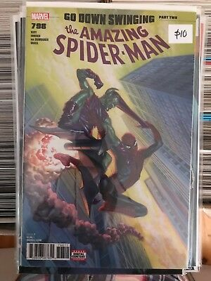 AMAZING SPIDER-MAN #798 NM 1st Print ALEX ROSS COVER Carnage 1ST APP RED GOBLIN