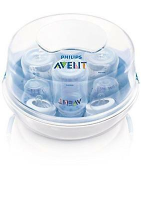 Philips Avent Microwave Steam Sterilizer, Bottle, Nipples, Pacifier, BPA Free