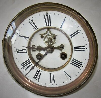 Nice French Striking Movement With Visible Escapement
