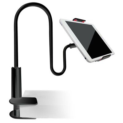 Tablet Flexible Gooseneck Stand Holder Clamp For 7-inch Tabs iPad Air Mini Bed