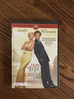 "DVD Movie ""How To Lose A Guy In 10 Days"""