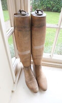 GOOD QUALITY BEECH RIDING BOOT TREES LASTS wooden stretchers UK 10 EU45 US10 1/2