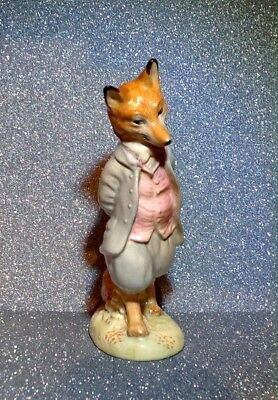 Beswick Beatrix Potter - Foxy Whiskered Gentleman - Gold Backstamp
