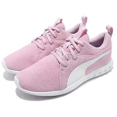 23dde8d4895a Puma Carson 2 Knit NM Wns Winsome Orchid White Women Casual Shoes 191085-03