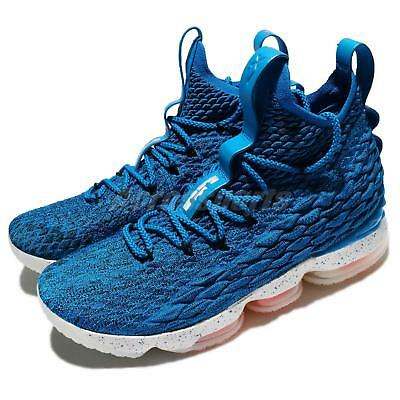 d02ccbf3c94b NIKE LEBRON XV EP 15 James HWC Hardwood Classics Photo Blue Men Shoes  AO1754-400 - EUR 160