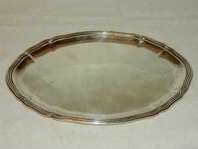 "Vintage Buccellati Italy Sterling Silver 9.75"" Serving Tray"