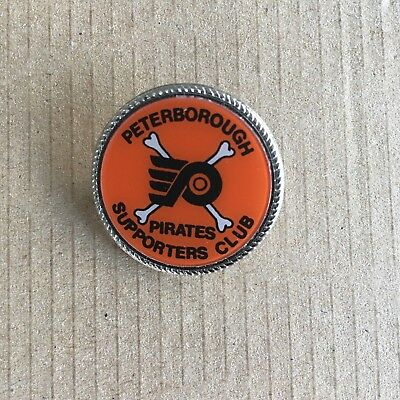 Peterborough Pirates Supporters Club Pin Badge 1990's