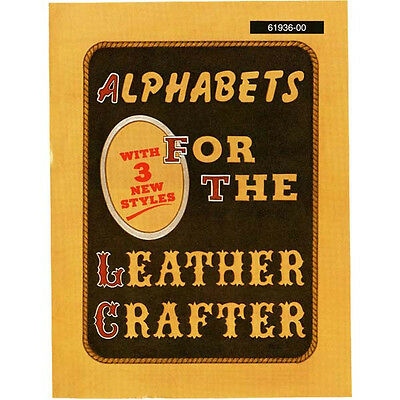Alfabetos For The Leathercrafter Libro 61936-00