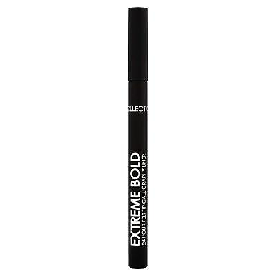 Collection Extreme Bold 24 Hour Felt Tip Calligraphy Liner | Black 01